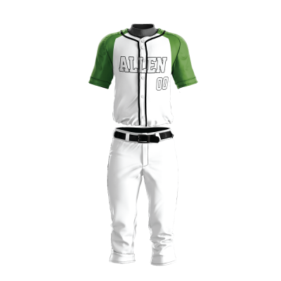 Custom Baseball Uniform Pro Tackle Twill or Sewn On 209