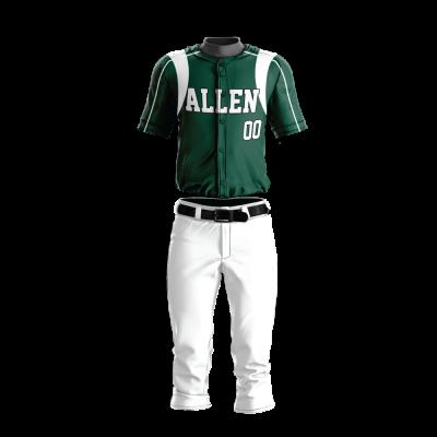 Custom Baseball Uniform Pro Tackle Twill or Sewn On 210