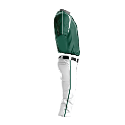 Custom Baseball Uniform Pro Tackle Twill or Sewn On 210-side view