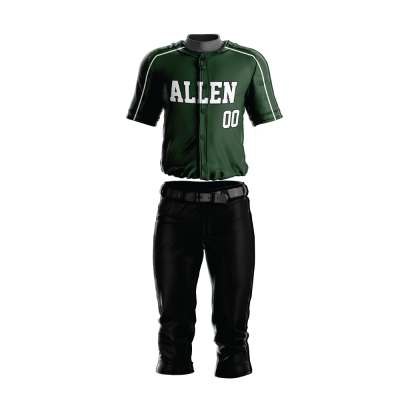 Custom Baseball Uniform Pro Tackle Twill or Sewn On 211