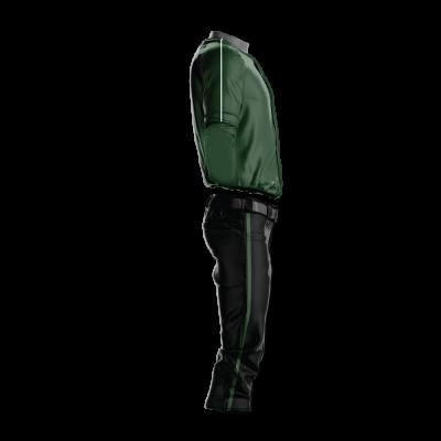 Custom Baseball Uniform Pro Tackle Twill or Sewn On 211-side view
