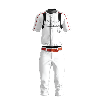 Custom Baseball Uniform Pro Tackle Twill or Sewn On 213