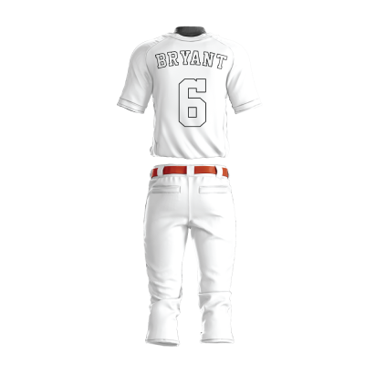 BASEBALL UNIFORM PRO 213 BACK