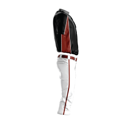 Custom Baseball Uniform Pro Tackle Twill or Sewn On 214-side view