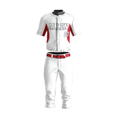 Custom Baseball Uniform Pro Tackle Twill or Sewn On 215