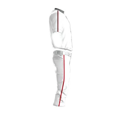 Custom Baseball Uniform Pro Tackle Twill or Sewn On 216-side view