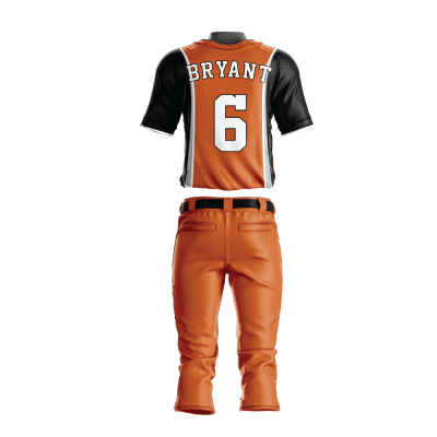 BASEBALL UNIFORM PRO 217 BACK