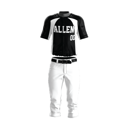 Custom Baseball Uniform Pro Tackle Twill or Sewn On 219