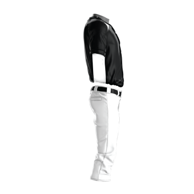 Custom Baseball Uniform Pro Tackle Twill or Sewn On 219-side view