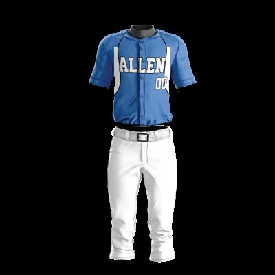 Custom Baseball Uniform Pro Tackle Twill or Sewn On 220