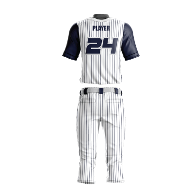Custom Sublimated Baseball Uniform UNITED-back view