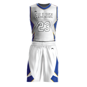 Image for Basketball Uniform Sublimated 504 Away