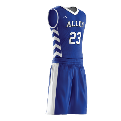 BASKETBALL UNIFORM SUBLIMATED 509 SIDE