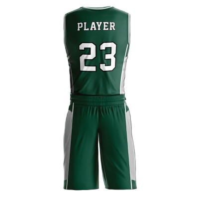 BASKETBALL UNIFORM SUBLIMATED 510 BACK