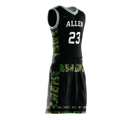 BASKETBALL UNIFORM SUBLIMATED 511 SIDE