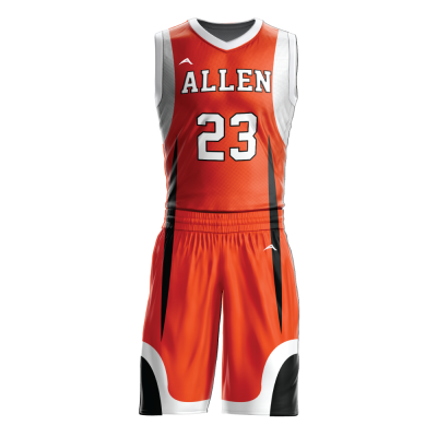Custom basketball uniform sublimated 515