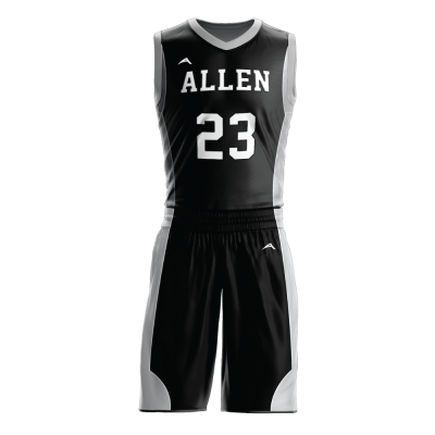 Custom basketball uniform sublimated 516