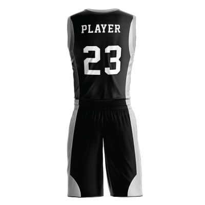 BASKETBALL UNIFORM SUBLIMATED 516 BACK