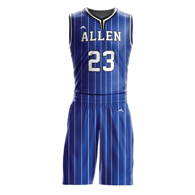 Custom basketball uniform sublimated 517