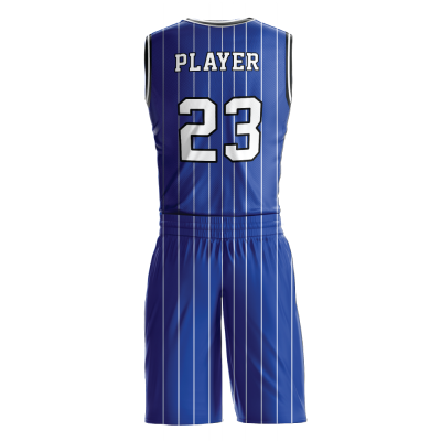 BASKETBALL UNIFORM SUBLIMATED 517 BACK