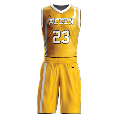 Custom basketball uniform sublimated 518
