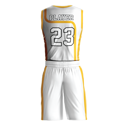Custom basketball uniform PRO 225 back view