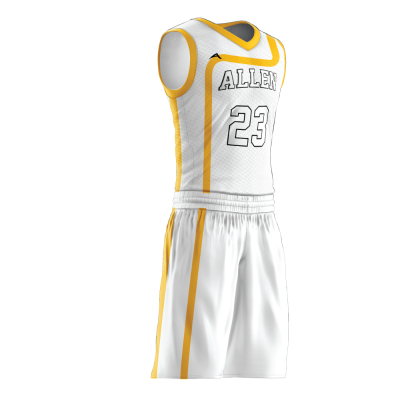 Custom basketball uniform PRO 225 side view