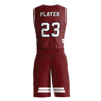 Custom basketball uniform PRO 226 back view