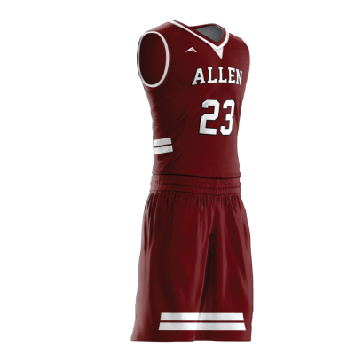 Custom basketball uniform PRO 226 side view