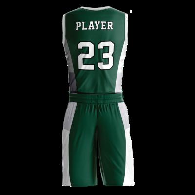 Custom basketball uniform PRO 229 back view