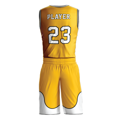 Custom basketball uniform PRO 230 back view