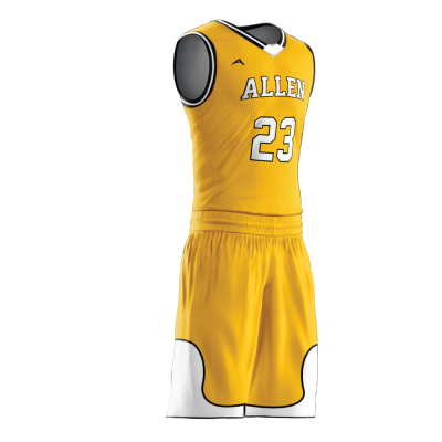 Custom basketball uniform PRO 230 side view