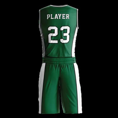 Custom basketball uniform PRO 231 back view