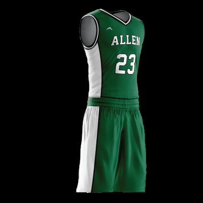 Custom basketball uniform PRO 231 side view