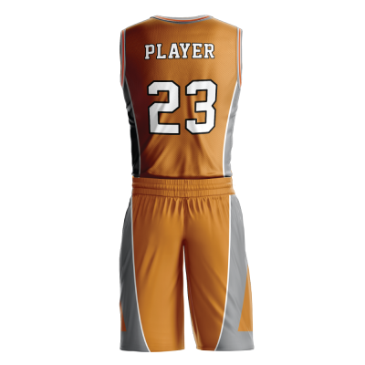 Custom basketball uniform PRO 232 back view