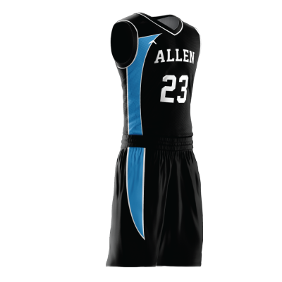 Custom basketball uniform PRO 237 side view
