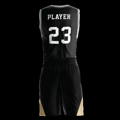 Custom basketball uniform PRO 238 back view