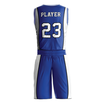 Custom basketball uniform PRO 239 back view