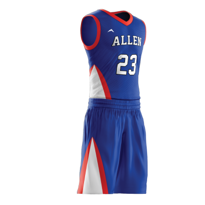 Custom basketball uniform PRO 241 side view