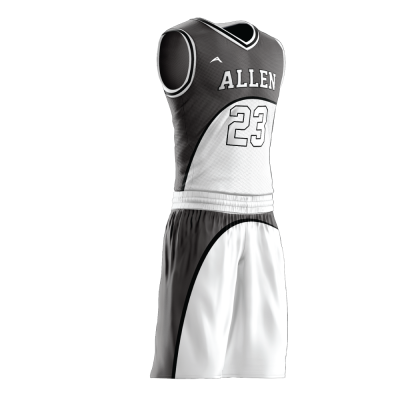 Custom basketball uniform PRO 243 side view