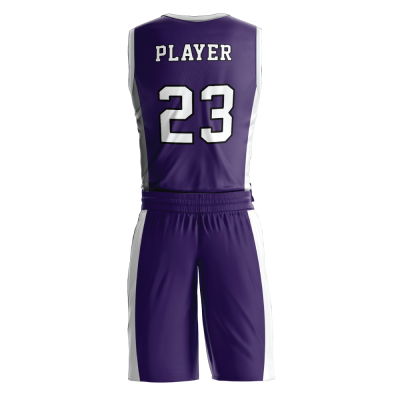 BASKETBALL UNIFORM PRO 244 BACK