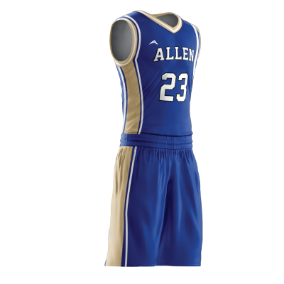 Custom basketball uniform PRO 247 side view