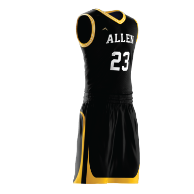 Custom basketball uniform PRO 251 side view