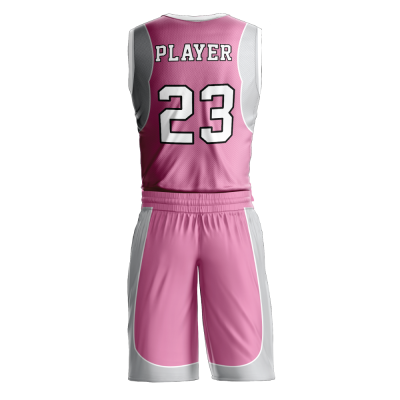 Custom basketball uniform PRO 255 back view