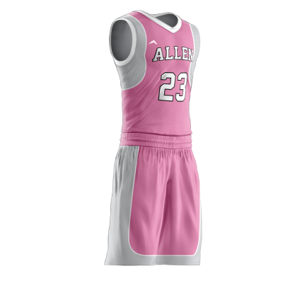Custom basketball uniform PRO 255 side view