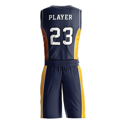 BASKETBALL UNIFORM PRO 258 BACK