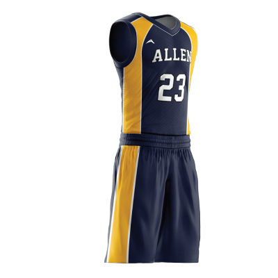 Custom basketball uniform PRO 258 side view
