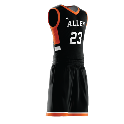 Custom basketball uniform PRO 259 side view
