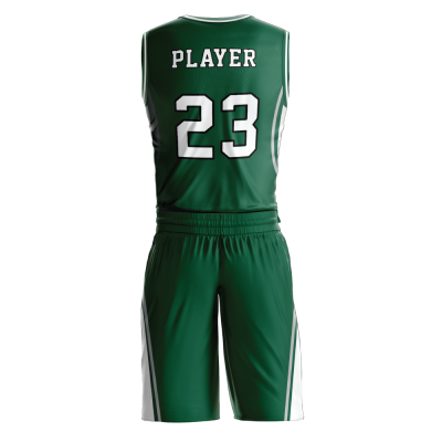 Custom basketball uniform PRO 260 back view