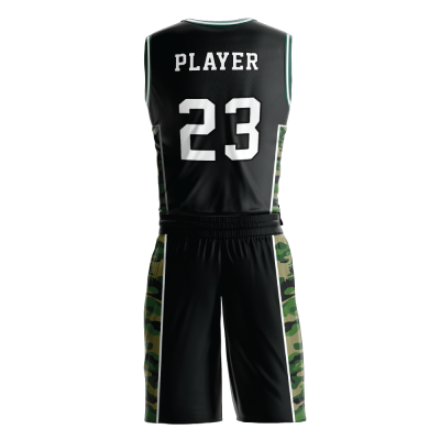 Custom basketball uniform PRO 262 back view